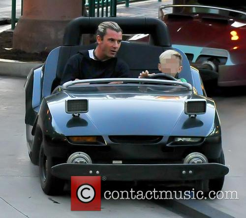 Kingston Rossdale and Gavin Rossdale 4