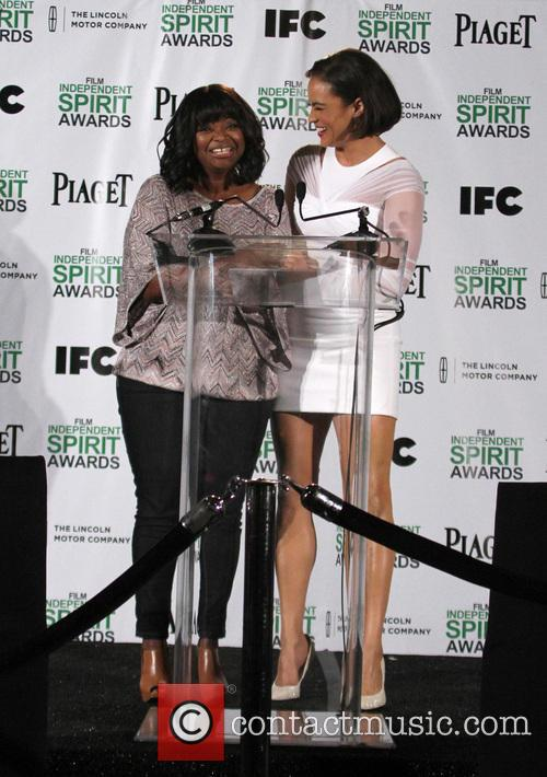 Octavia Spencer and Paula Patton 10