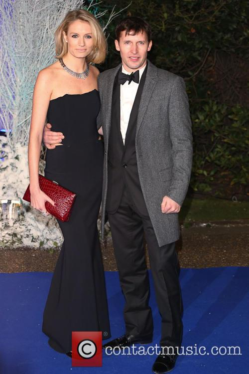 James Blunt and Girlfriend Sofia Wellesley 3