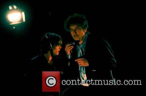 Bob Dylan Performing At Royal Albert Hall