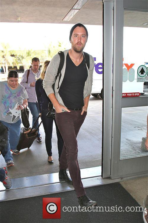 Josh Kelley At LAX