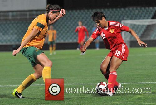 Women's International Friendly match Australia's Matildas vs. China...
