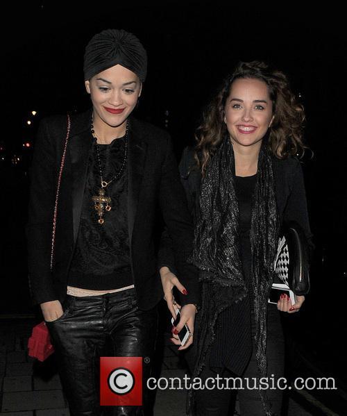 Rita Ora and Elena Ora 1