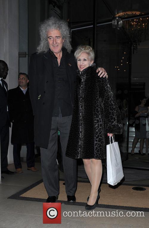 Brian May and Anita Dobson 2