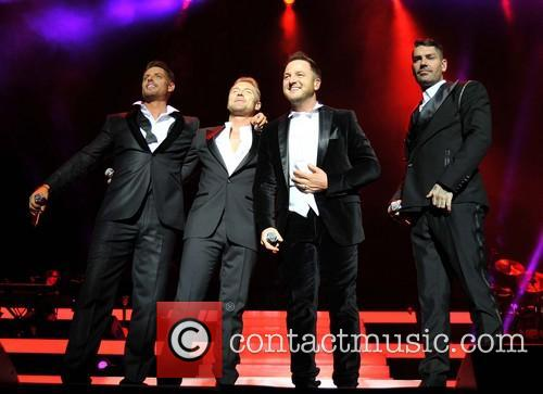 Keith Duffy, Ronan Keating, Mikey Graham and Shane Lynch 2