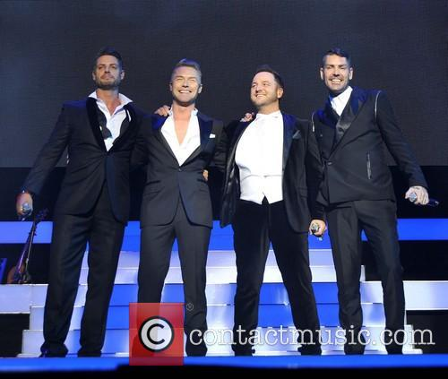 Keith Duffy, Ronan Keating, Mikey Graham and Shane Lynch 4