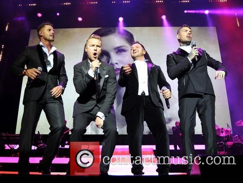 Keith Duffy, Ronan Keating, Mikey Graham and Shane Lynch 5