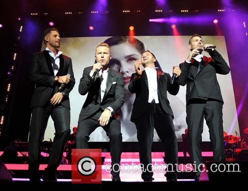 Keith Duffy, Ronan Keating, Mikey Graham and Shane Lynch 8