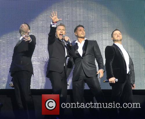 Keith Duffy, Ronan Keating, Mikey Graham and Shane Lynch 10