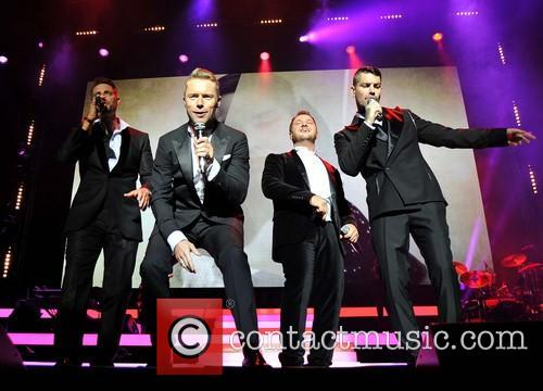 Keith Duffy, Ronan Keating, Mikey Graham and Shane Lynch 11