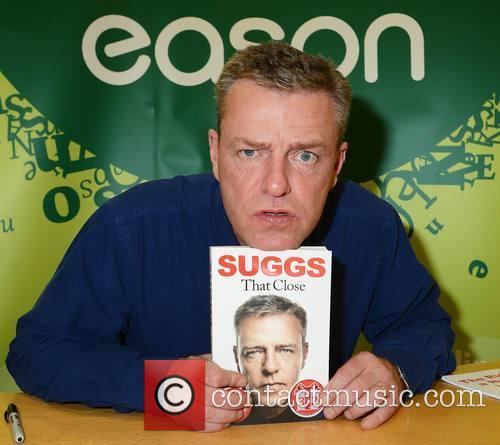 Madness singer Suggs signs his book