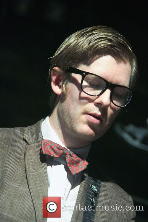 Public Service Broadcasting performing at The Brook