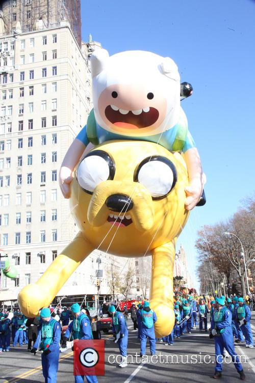 advaenture time 87th macys thanksgiving day parade 3974462