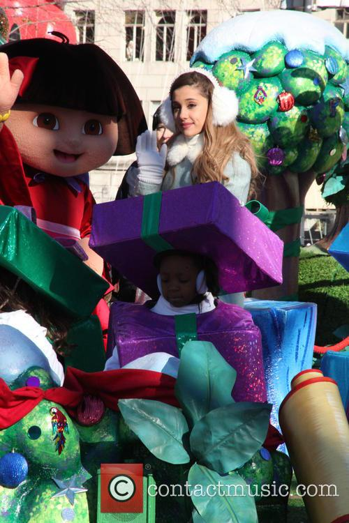 Ariana Grande and Dora 11
