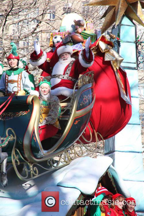 santa claus 87th macys thanksgiving day parade 3974460