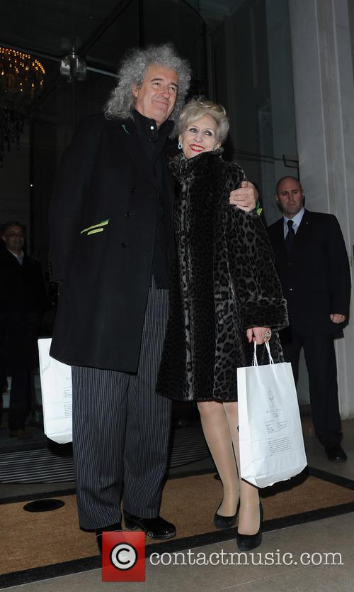 Bryan May and Anita Dobson 2