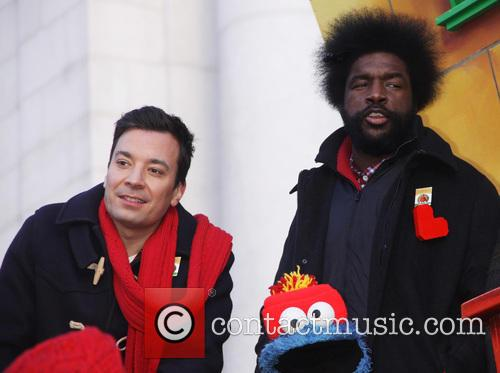Jimmy Fallon and Questlove 3
