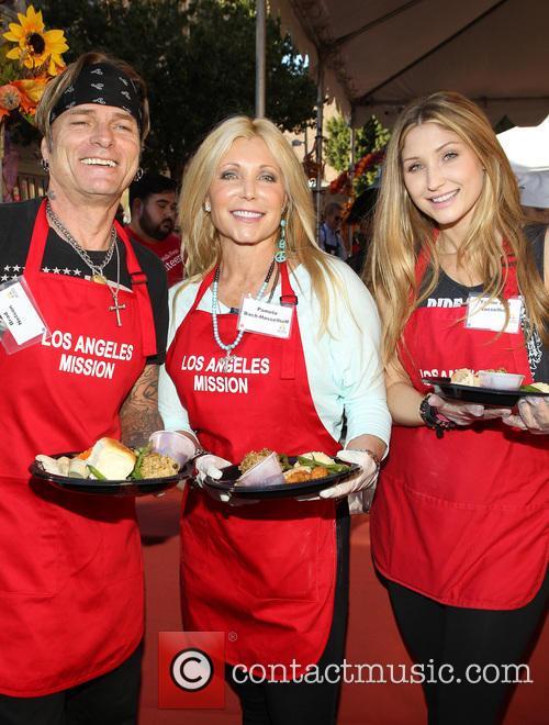Brad Nelson, Pamela Bach and Taylor-ann Hasselhoff