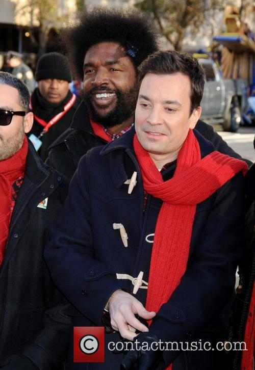 Jimmy Fallon, Quest Love, Macy's Thanksgiving Parade