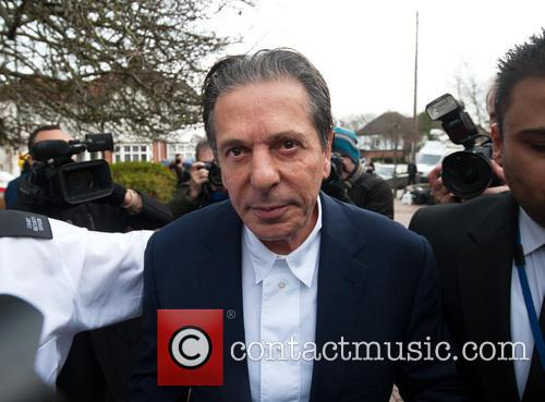 Charles Saatchi arrives at Isleworth Crown Court