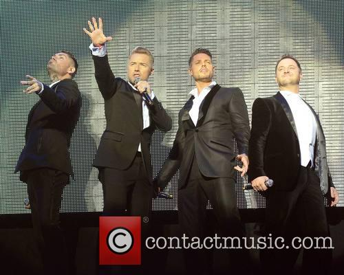 Keith Duffy, Ronan Keating, Mikey Graham and Shane Lynch - Boyzone 3