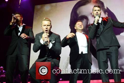 Keith Duffy, Ronan Keating, Mikey Graham and Shane Lynch - Boyzone 5