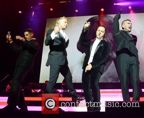 Keith Duffy, Ronan Keating, Mikey Graham and Shane Lynch - Boyzone 1