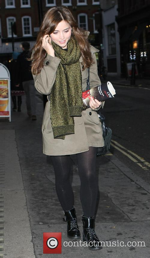 Jenna Louise Coleman out and about in Soho