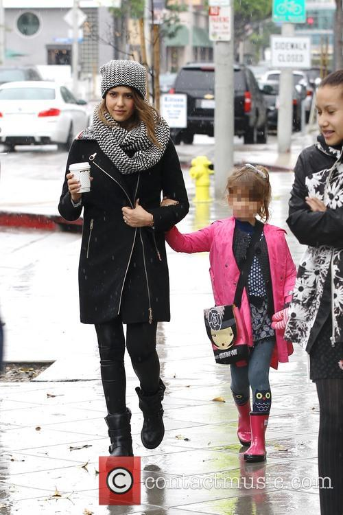 Jessica Alba and Honor Warren 3