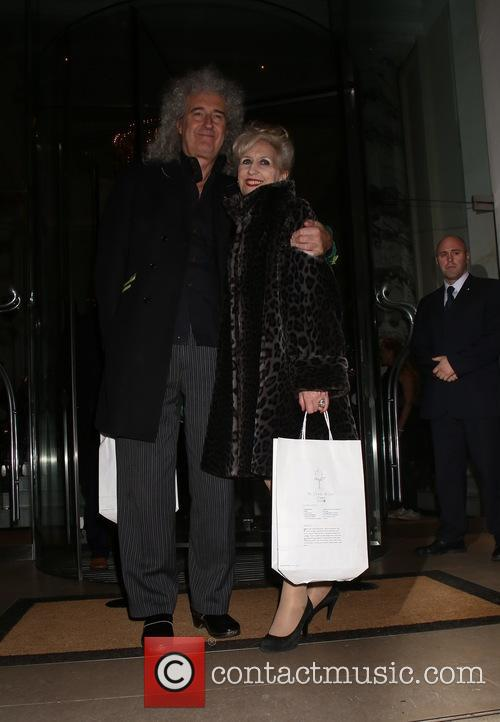 Brian May and Anita Dobson 2