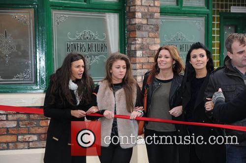 Michelle Keegan, Brooke Vincent, Alison King and Kym Marsh 1