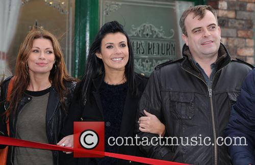 Alison King, Kym Marsh and Simon Gregson 4