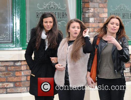 Michelle Keegan, Brooke Vincent and Alison King 1