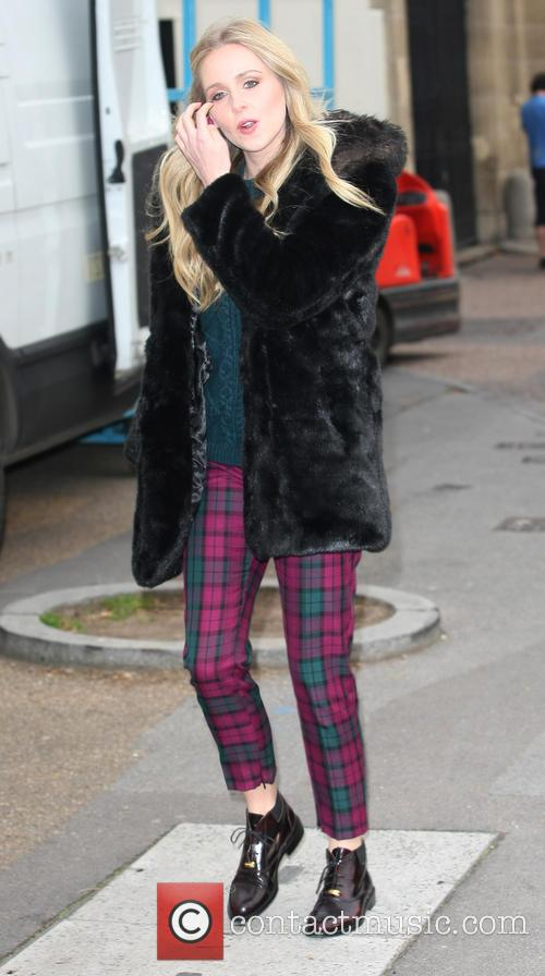Diana Vickers outside the ITV Studios
