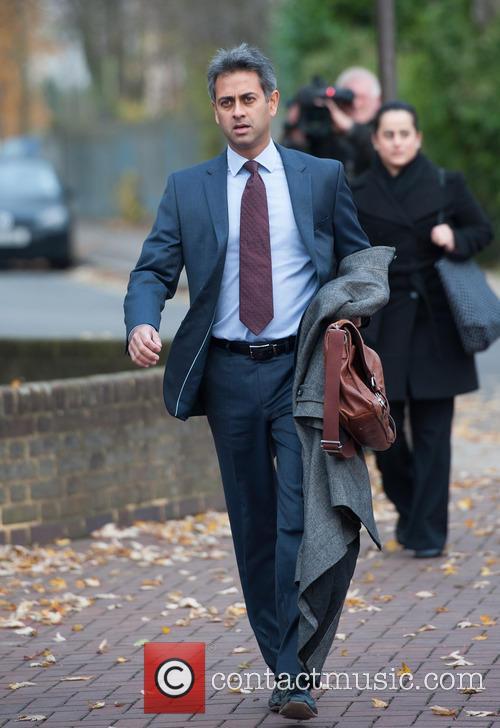 Finance director Rahul Gajjar arrives at Isleworth Crown...