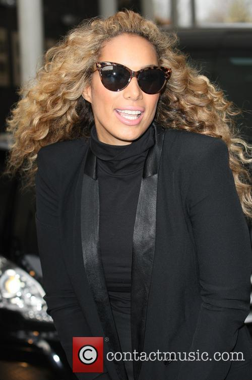 Leona Lewis leaving the ITV Studios
