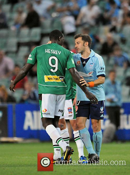 A-League Round Eight match between Sydney FC and...