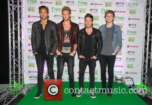 Lawson, Andy Brown, Adam Pitts, Joel Peat and Ryan Fletcher 1