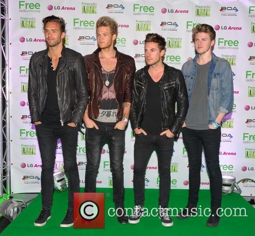 Lawson, Andy Brown, Adam Pitts, Joel Peat and Ryan Fletcher 5