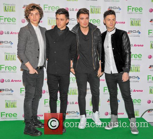 Union J, Josh Cuthbert, Jaymi Hensley, Jj Hamblett and George Shelley 2
