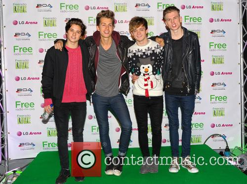 The Vamps, James McVey, Connor Ball, Tristan Evans and Bradley Simpson 11