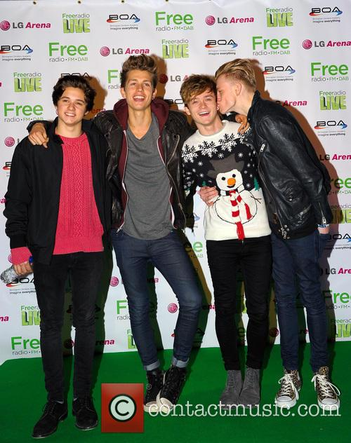 The Vamps, James Mcvey, Connor Ball, Tristan Evans and Bradley Simpson 5