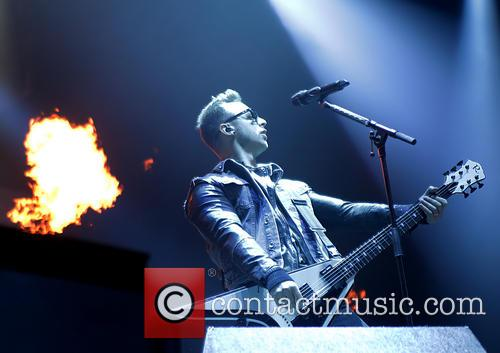 Bullet For My Valentine, Matthew Tuck, Manchester Phones4U Arena