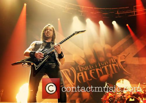 Bullet For My Valentine and Michael Paget 6