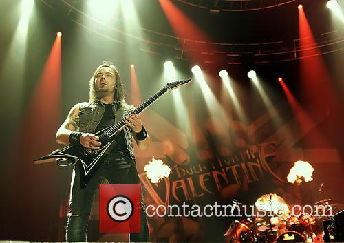 Bullet For My Valentine and Michael Paget 9