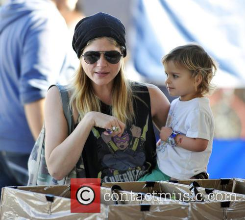 Selma Blair and Arthur Bleick 1