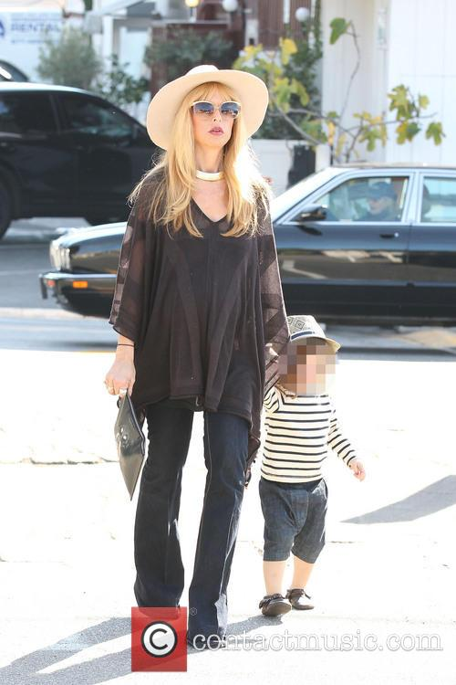 Rachel Zoe And Family At Brentwood Country Mart