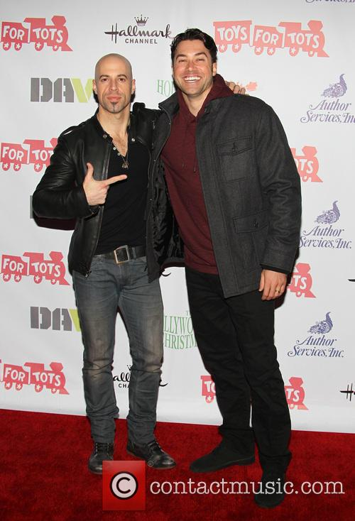 Chris Daughtry and Ace Young 2