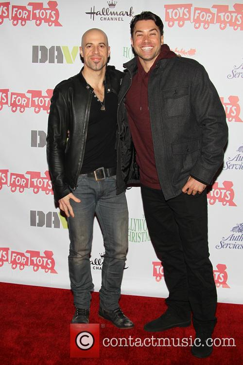 Chris Daughtry and Ace Young 1