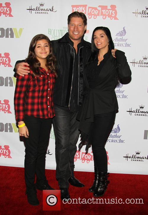 Sean Kanan, Simone Andrea Kanan and Michele Vega 1